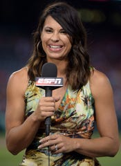As part of her new role for ESPN, Camarillo High graduate Jessica Mendoza will be the sole analyst on a package of weeknight games as well as being in the booth for ESPN Radio's coverage of the World Series and postseason games.