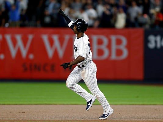 Mlb Al Wild Card Oakland Athletics At New York Yankees