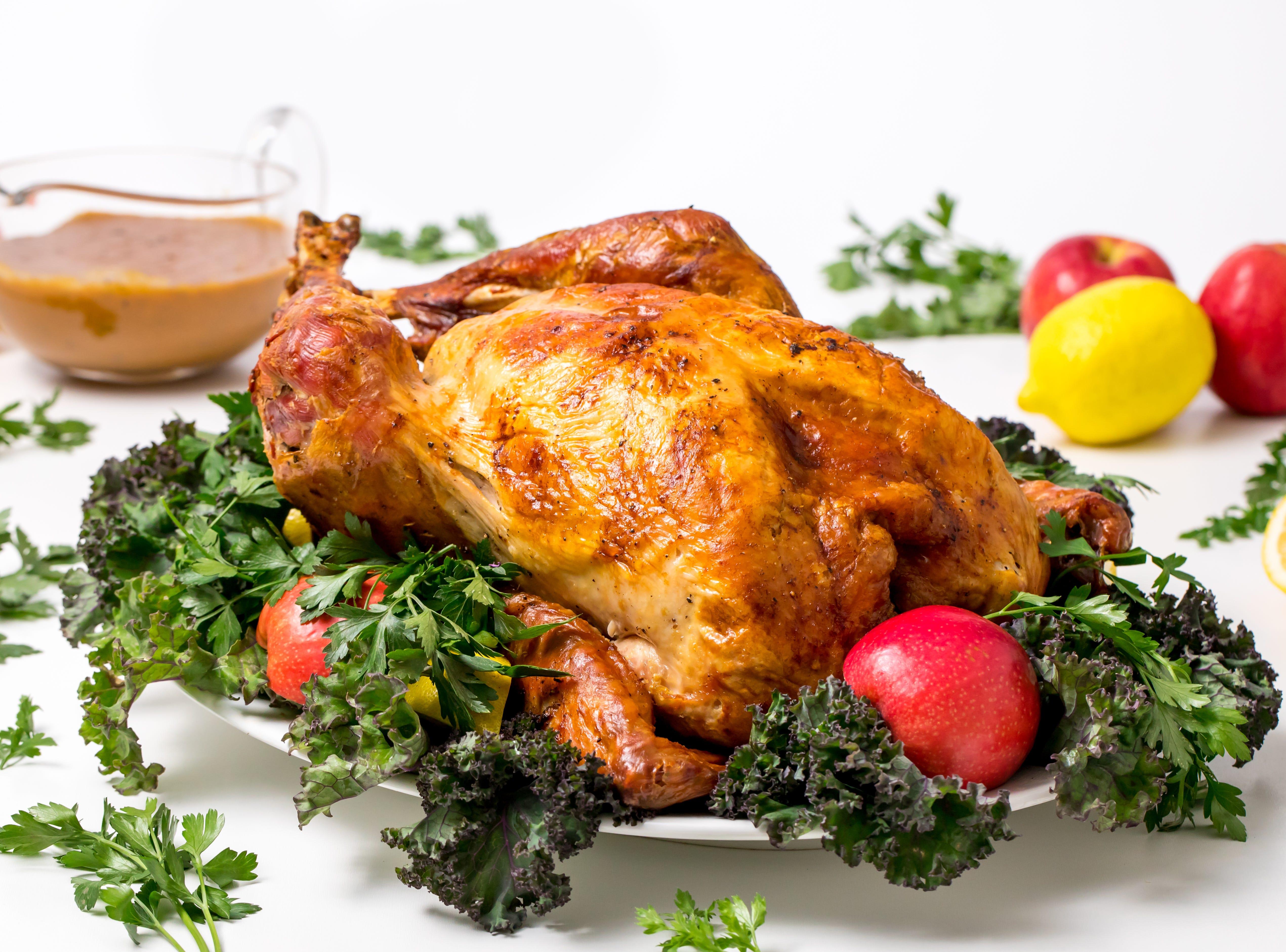 James Beard roasted turkey