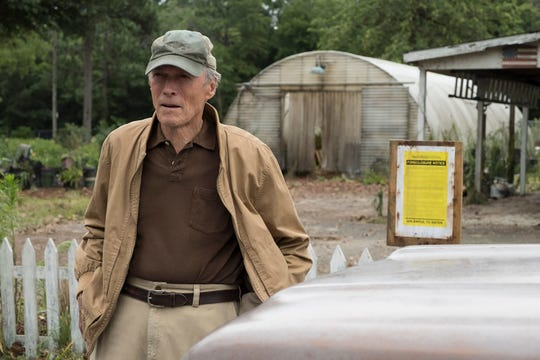 "Clint Eastwood stars as an accidental drug courier in the new drama ""The Mule."""
