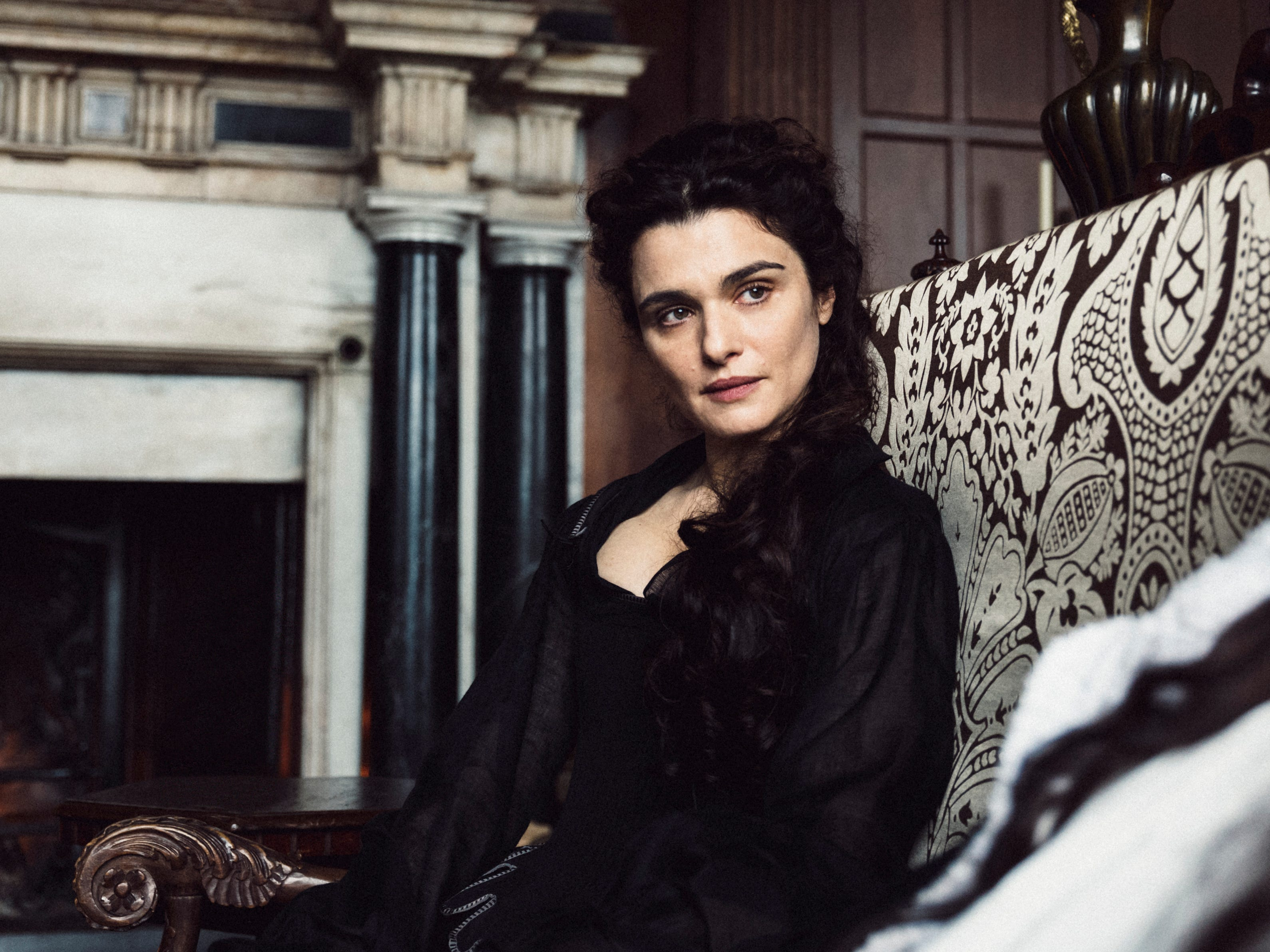 "This image released by Fox Searchlight shows Rachel Weisz in a scene from ""The Favourite."" On Thursday, Dec. 6, 2018, Weisz was nominated for a Golden Globe award for supporting actress in a motion picture for her role in the film. The 76th Golden Globe Awards will be held on Sunday, Jan. 6. (Yorgos Lanthimos/Fox Searchlight via AP) ORG XMIT: NYET848"