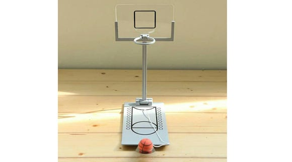 Desktop basketball hoop