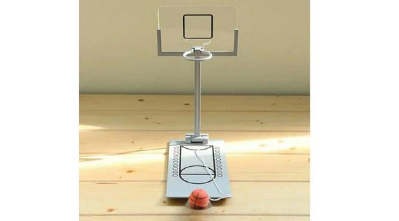 Desktop basketball hoop