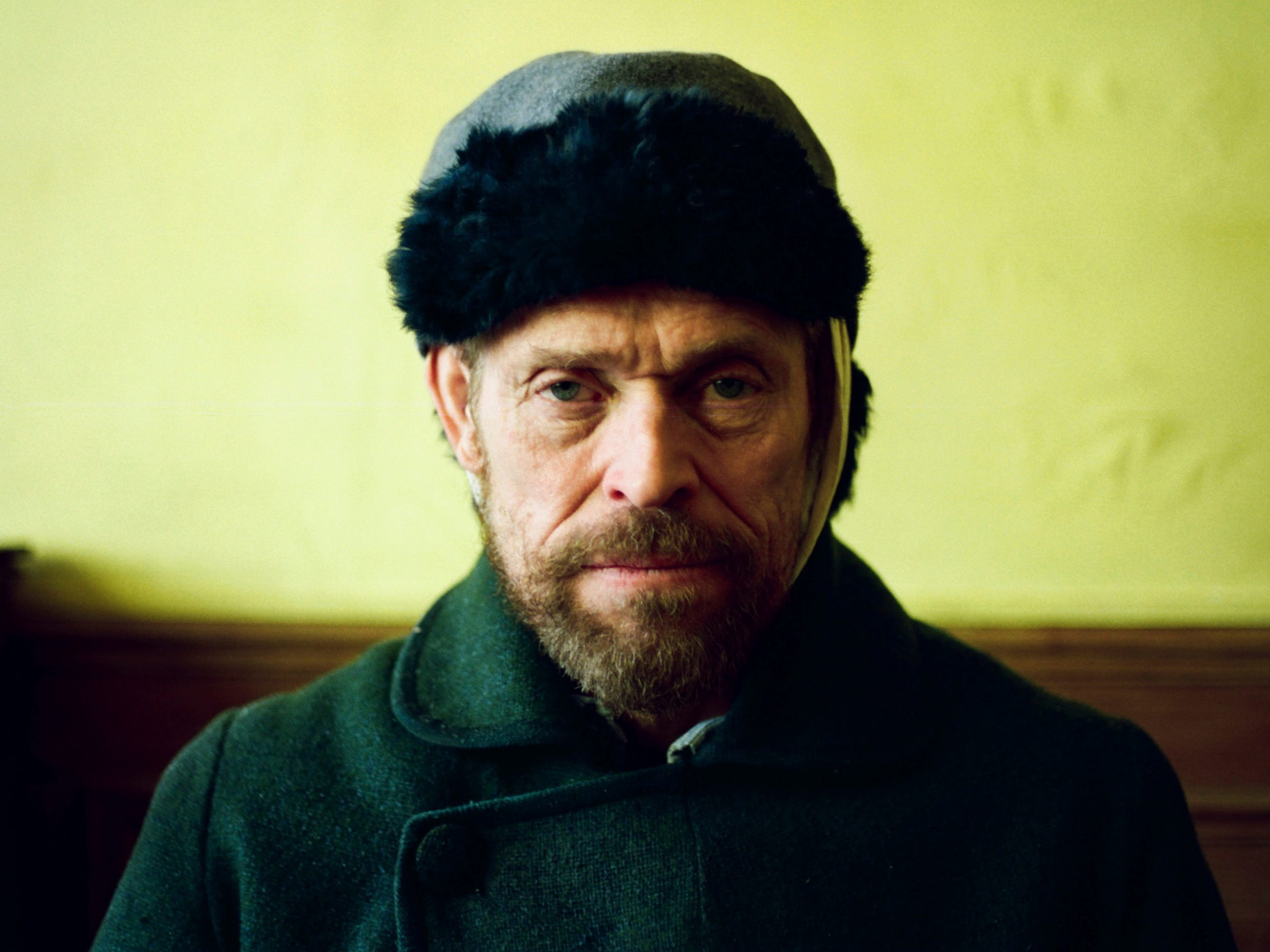 "This images released by CBS Films shows Willem Dafoe as Vincent Van Gogh in ""At Eternity's Gate.""  On Thursday, Dec. 6, 2018, Dafoe was nominated for a Golden Globe award for lead actor in a motion picture drama for his role in the film. The 76th Golden Globe Awards will be held on Sunday, Jan. 6. (Lily Gavin/CBS Films via AP) ORG XMIT: NYET821"