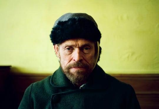 "In ""At Eternity's Gate,"" Willem Dafoe plays Vincent Van Gogh. The 63-year-old actor from Appleton earned his fourth Academy Award nomination for the role."