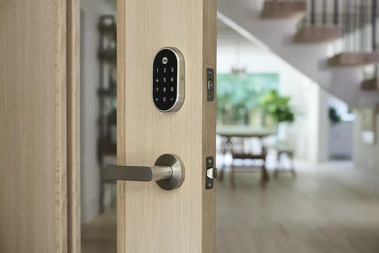 Smart locks add a level of safety and convenience.