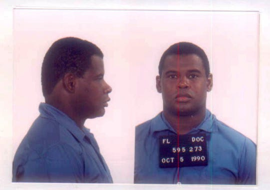 Gerald Murphy is shown in a photo from the Florida Department of Corrections in October 1990.
