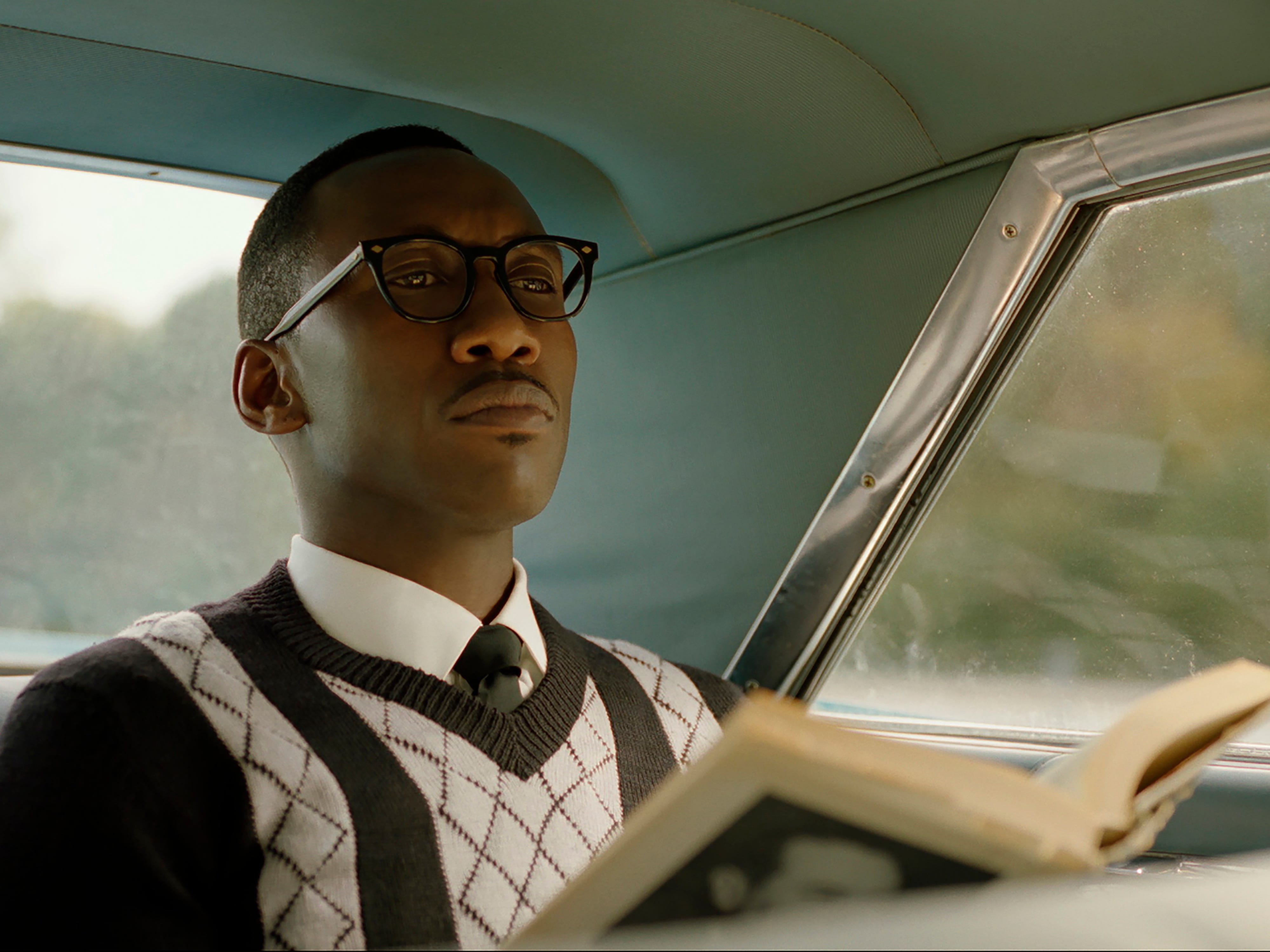 "This image released by Universal Pictures shows Mahershala Ali in a scene from ""Green Book."" On Thursday, Dec. 6, 2018, Ali was nominated for a Golden Globe award for supporting actor in a motion picture for his role in the film. The 76th Golden Globe Awards will be held on Sunday, Jan. 6. (Universal Pictures via AP) ORG XMIT: NYET838"