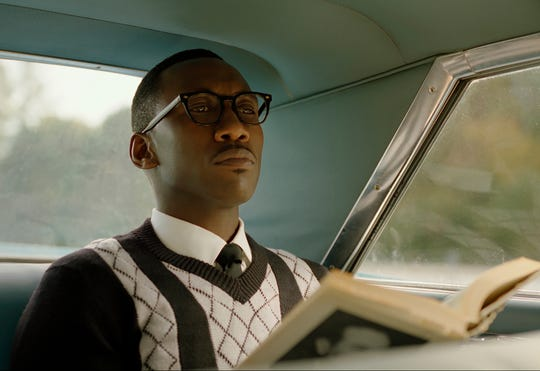 "Mahershala Ali in a scene from ""Green Book."""