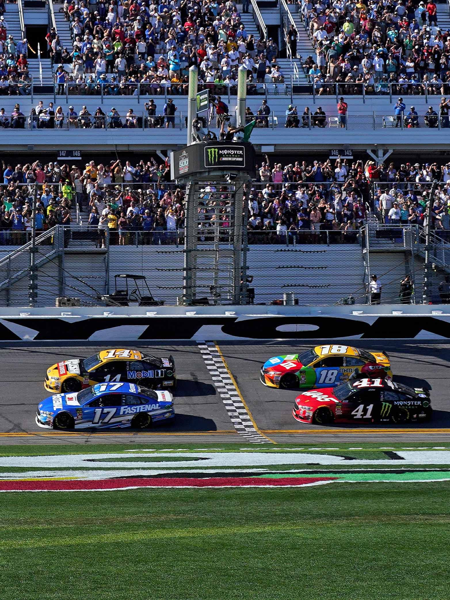 The 2019 Monster Energy NASCAR Cup Series schedule kicks off with Daytona 500 qualifying on Feb. 10, with the race one week later on Feb. 17.