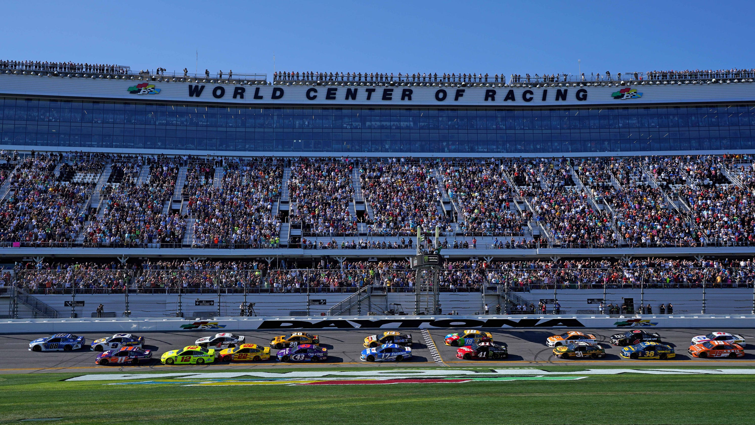 2019 Nascar Cup Schedule Full Time Tv And Radio Information