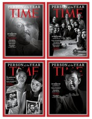 "Time magazine ""Person of the Year"" 2018 issue."