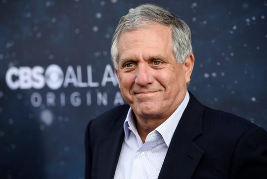 Les Moonves in September 2017 when he was chairman and CEO of CBS, at a premiere in Los Angeles.