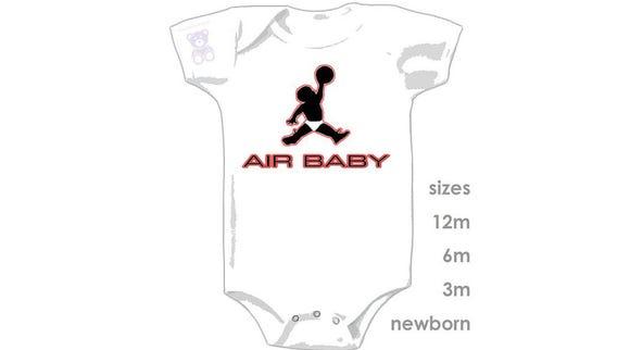 """""""Air Baby"""" onesie"""