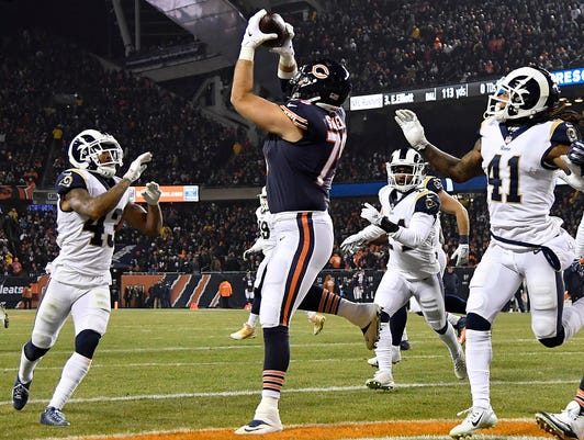 Nfl Los Angeles Rams At Chicago Bears