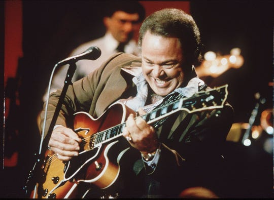 "Roy Clark, a musician who was a household name as a host on TV's ""Hee Haw,""."