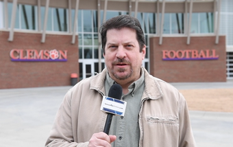 Scott Keepfer wraps up day one of Clemson's bowl practice
