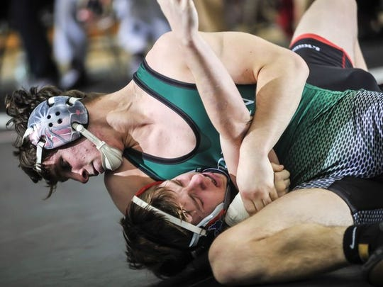 Anthony Aquilano is one of Raritan's top wrestlers. The Rockets are the pick to win Shore Conference Class A Central