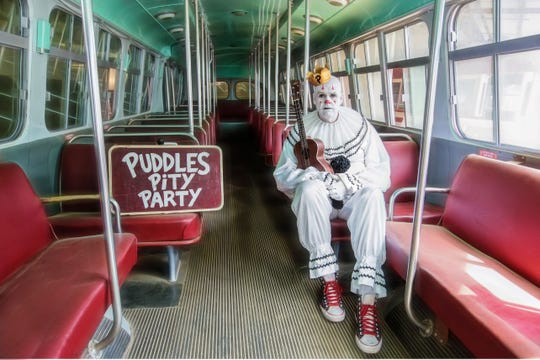 Puddles Pity Party performs Feb. 8 at Sidney & Berne Davis Art Center.