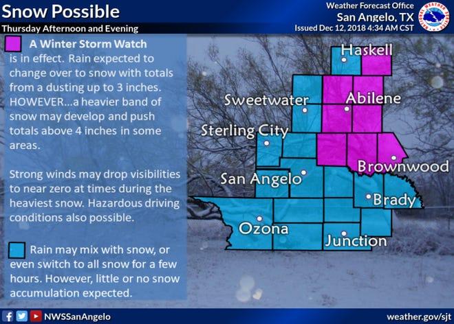 Thursday forecast.