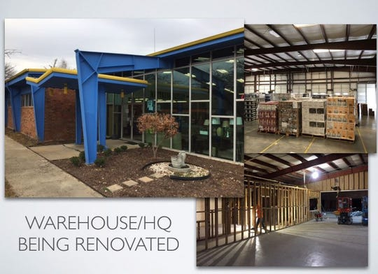 Asheville liquor regulators have built a new $3 million Alcoholic Beverage Control warehouse on Old Brevard Road to deal with fast rising sales to restaurants and bars.