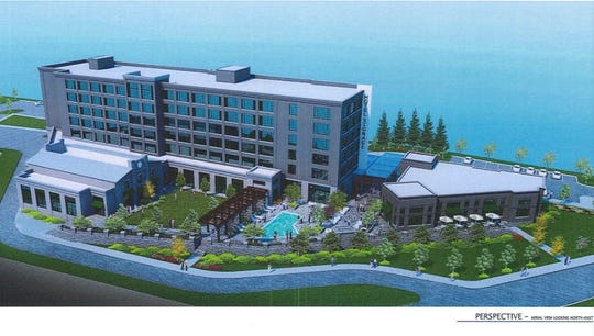 Asheville City Council rejected a proposal Tuesday for a six-story, 170-room hotel project at 62 Fairview Road, southeast of Biltmore Village.