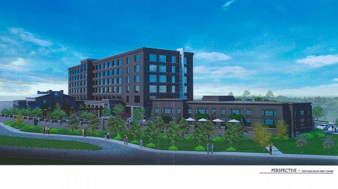 A proposal for a 170-room hotel with a 125-seat restaurant was shot down Tuesday by Asheville City Council.