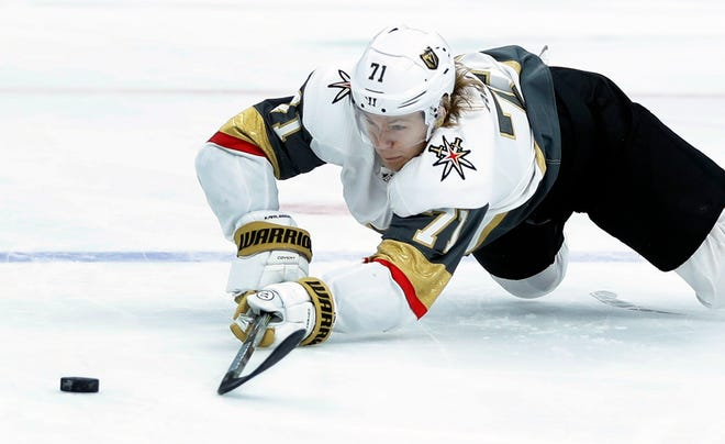 Seattle's new NHL franchise might not be able to obtain talent like William Karlsson through the 2021 expansion draft. Karlsson had 45 goals and 35 assists for Vegas after the Columbus Blue Jackets let him go in the 2017 expansion draft.