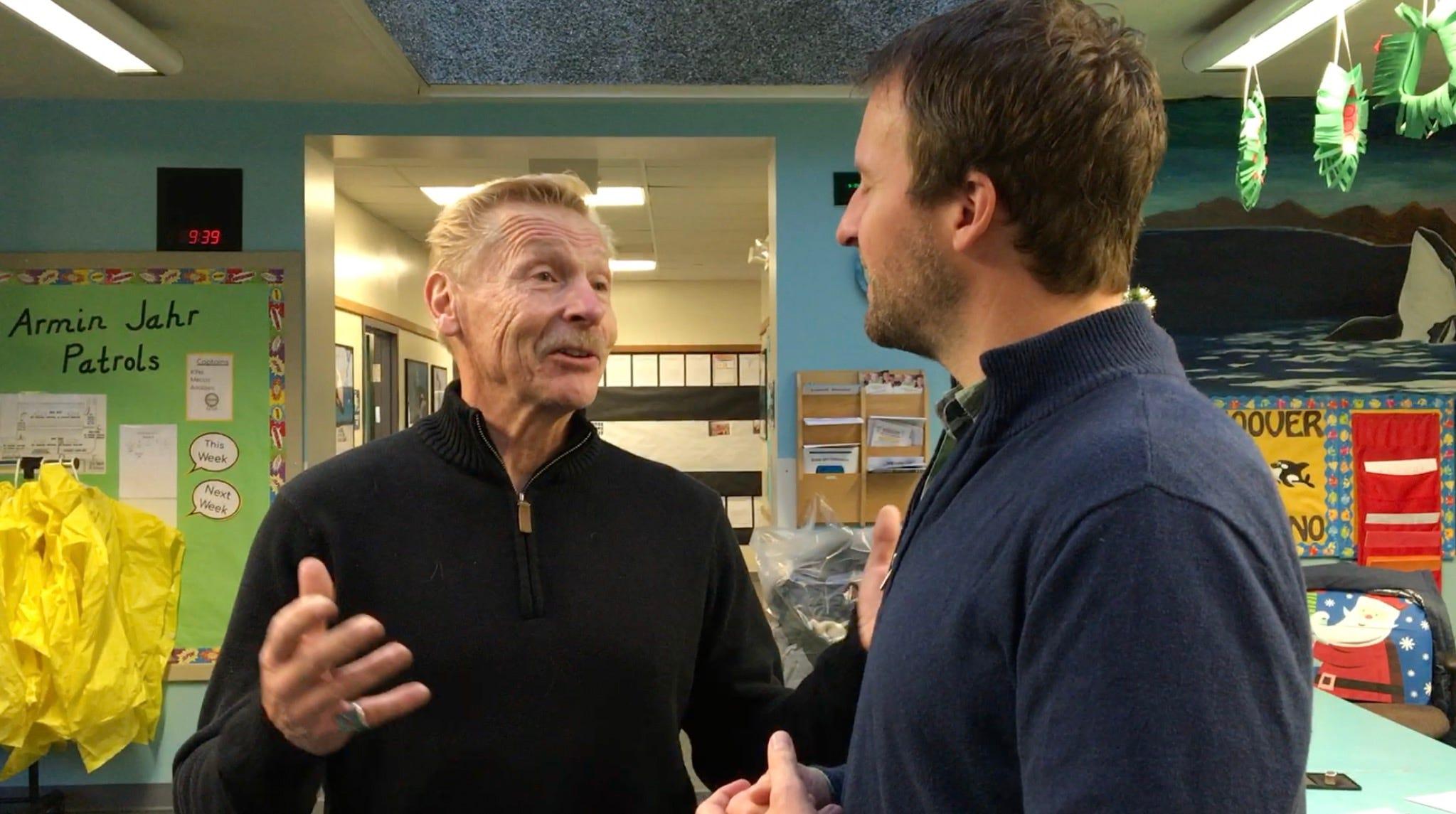 Josh Farley interviews John Sitton, educator, coach and grandson of Armin Jahr.