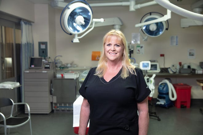 Julie Newhouse is the Nurse Manager for Health First's Holmes Regional Medical Center Emergency Department.