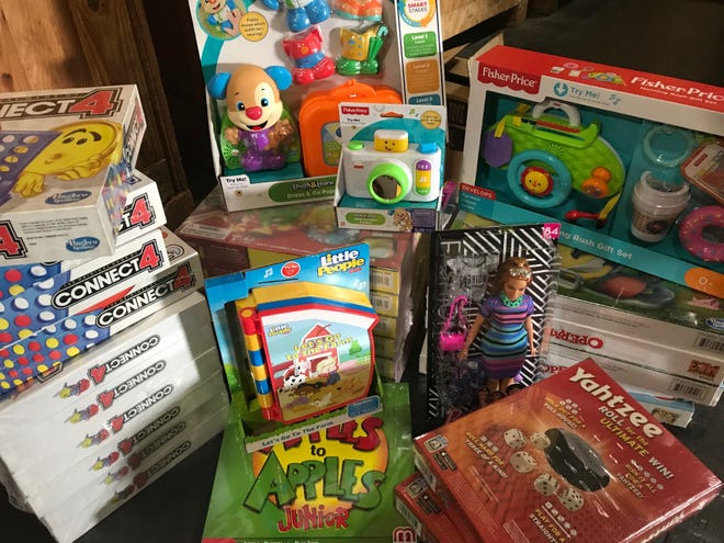 Since 1992, FLORIDA TODAY has provided toys and books for Brevard children through the Reaching Out Holiday Fund.