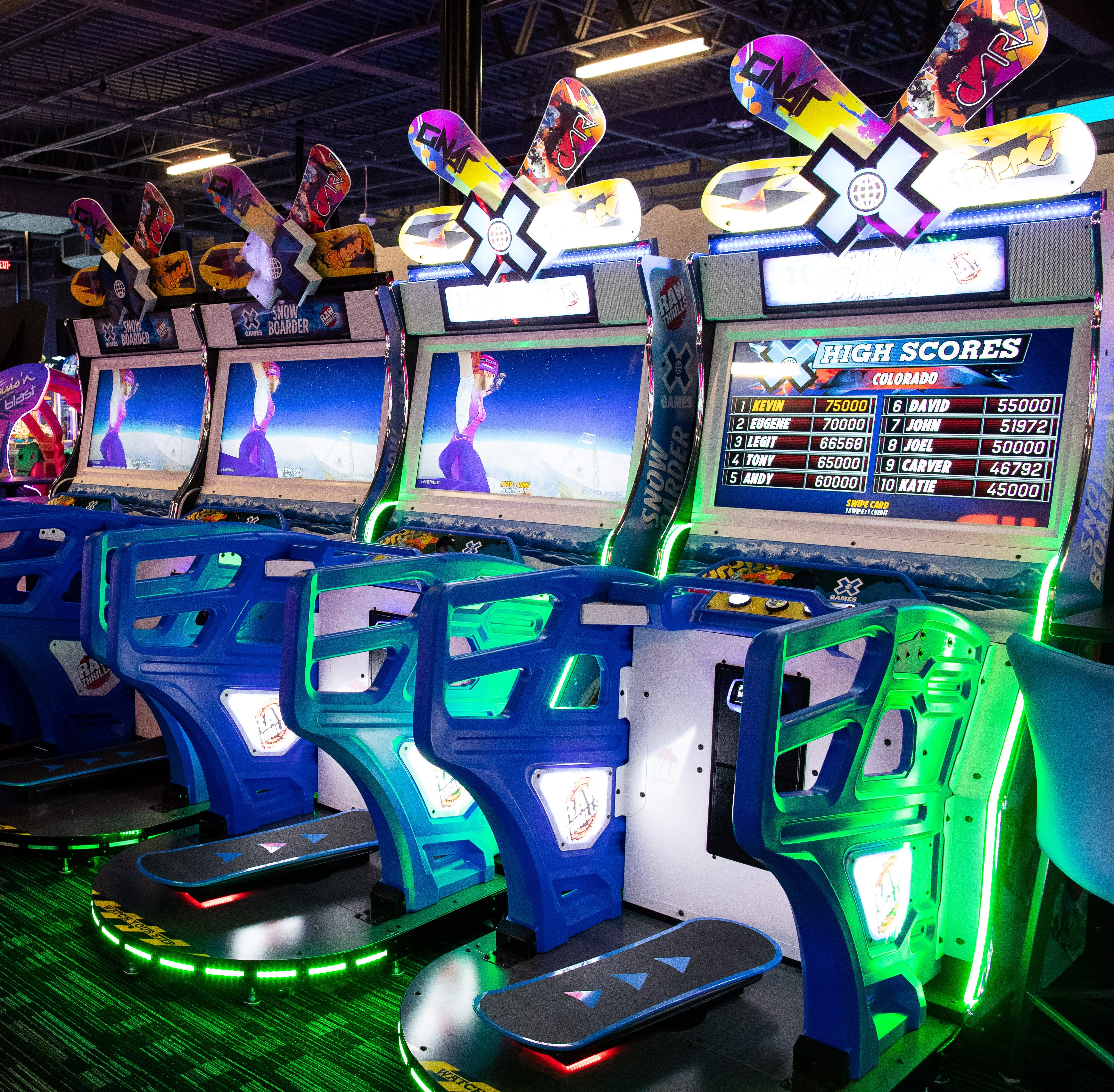 Get an exclusive sneak peek of the Dave & Buster's in Corpus Christi