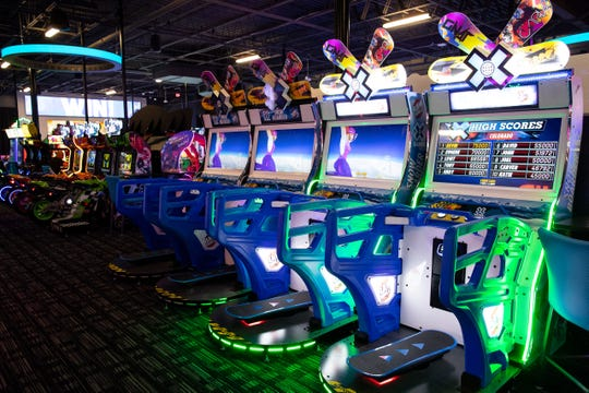 A look inside the Dave and Buster's first Corpus Christi location inside the La Palmera Mall.