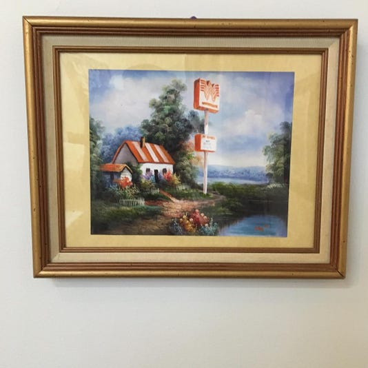 Whataburger Painting