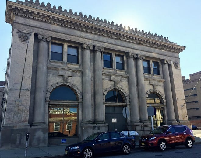 The state Economic Development Authority has approved an $8.4-million tax break for a compounding pharmacy that would occupy a former library in downtown Camden.