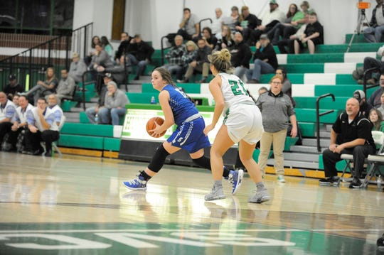 Huntington girls basketball defeated Southeastern 51-45 Tuesday night at Huntington High School, moving to 4-2 on the season.