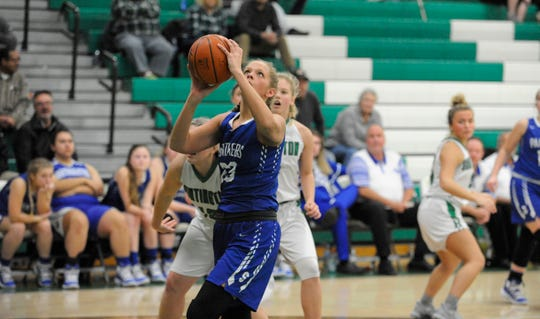 Southeastern girls basketball defeated Piketon 40-36 on Wednesday to move to 5-13 on the season.