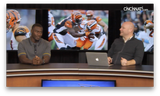 Bengals' Shawn William sits in the hot seat on this week's episode of Beyond the Stripes.