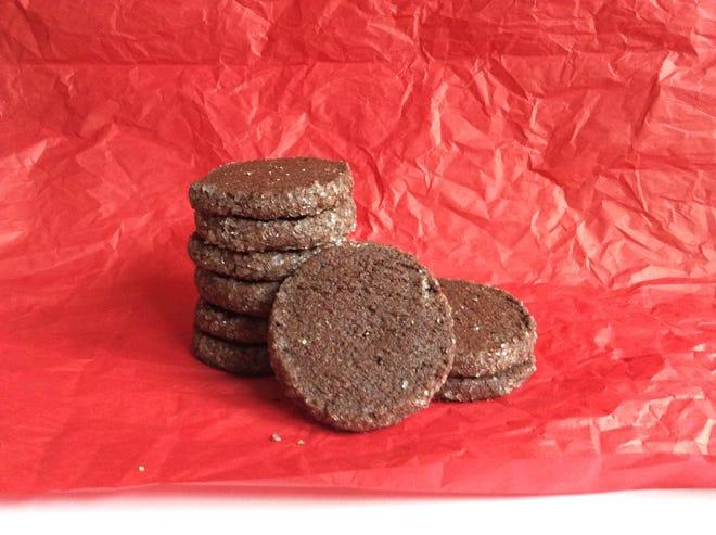 Chocolate pepper cookies