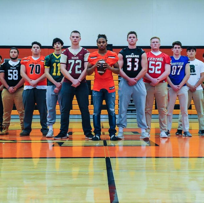 FOOTBALL: 2018 COURIER NEWS/MID-STATE ALL-AREA OFFENSE