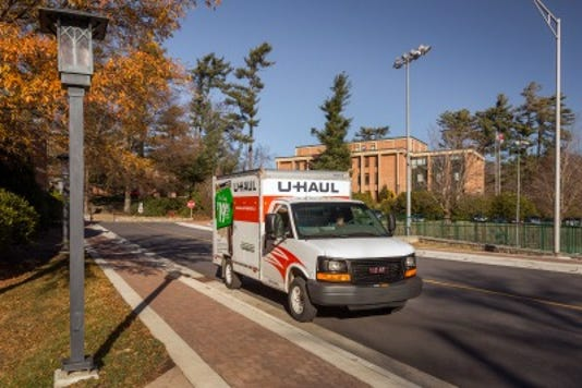 U-Haul Rentals land at Resta's Car Care & Rentals PHOTO CAPTION