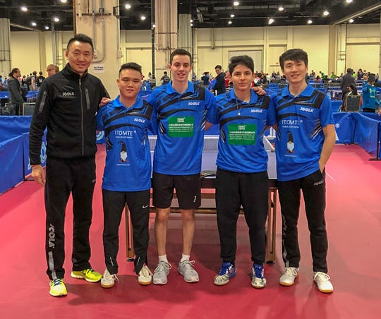 New Jersey Table Tennis Club (NJTTC) won 1st place in two divisions and one runner-up place at the 2018 JOOLA North American Teams Tournament from Nov. 23 to 25 at the Gaylord National Resort in Washington, DC.