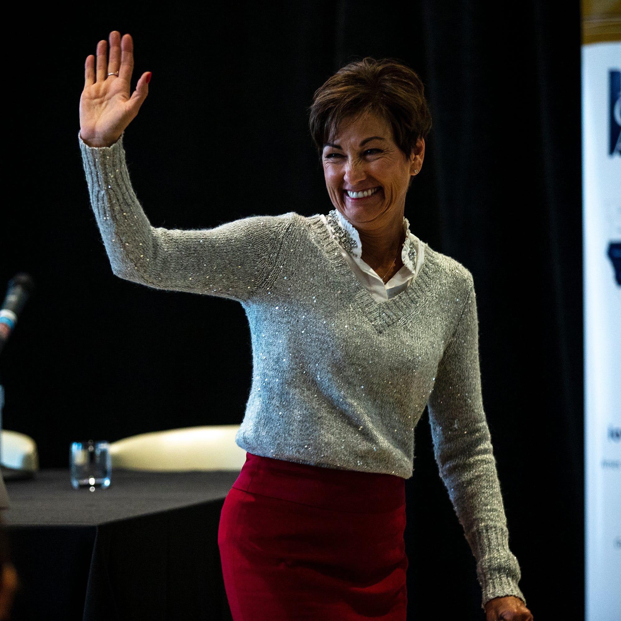 Newly elected governor Kim Reynolds follows a long line of trailblazing Iowa women