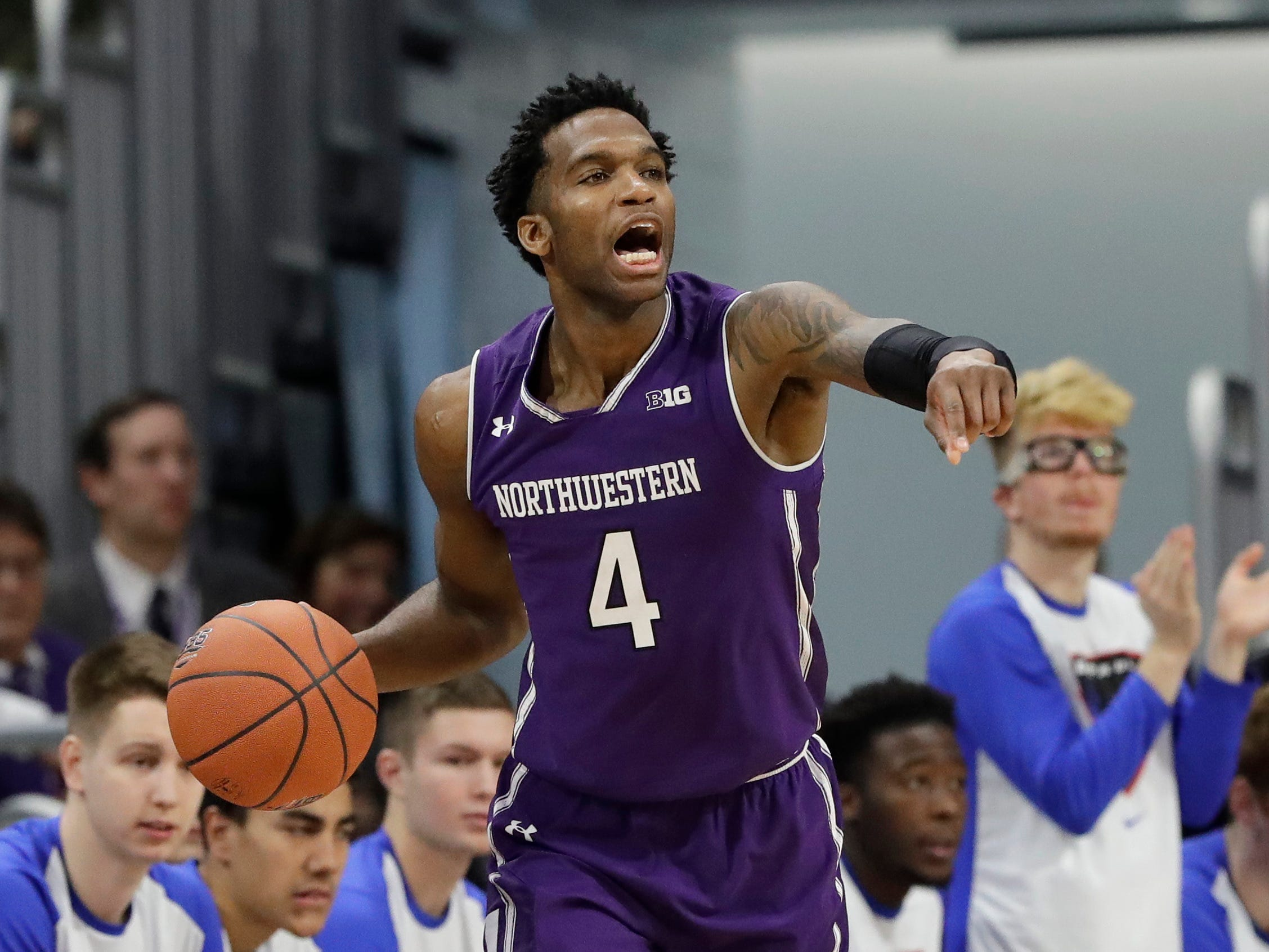 No. 11: Northwestern Wildcats (7-3, 0-2). Senior forward Vic Law is posting 18.5 points, 6.7 rebounds and 1.2 blocks per game, and shooting 41.8 percent from 3-point range (23-for-55).