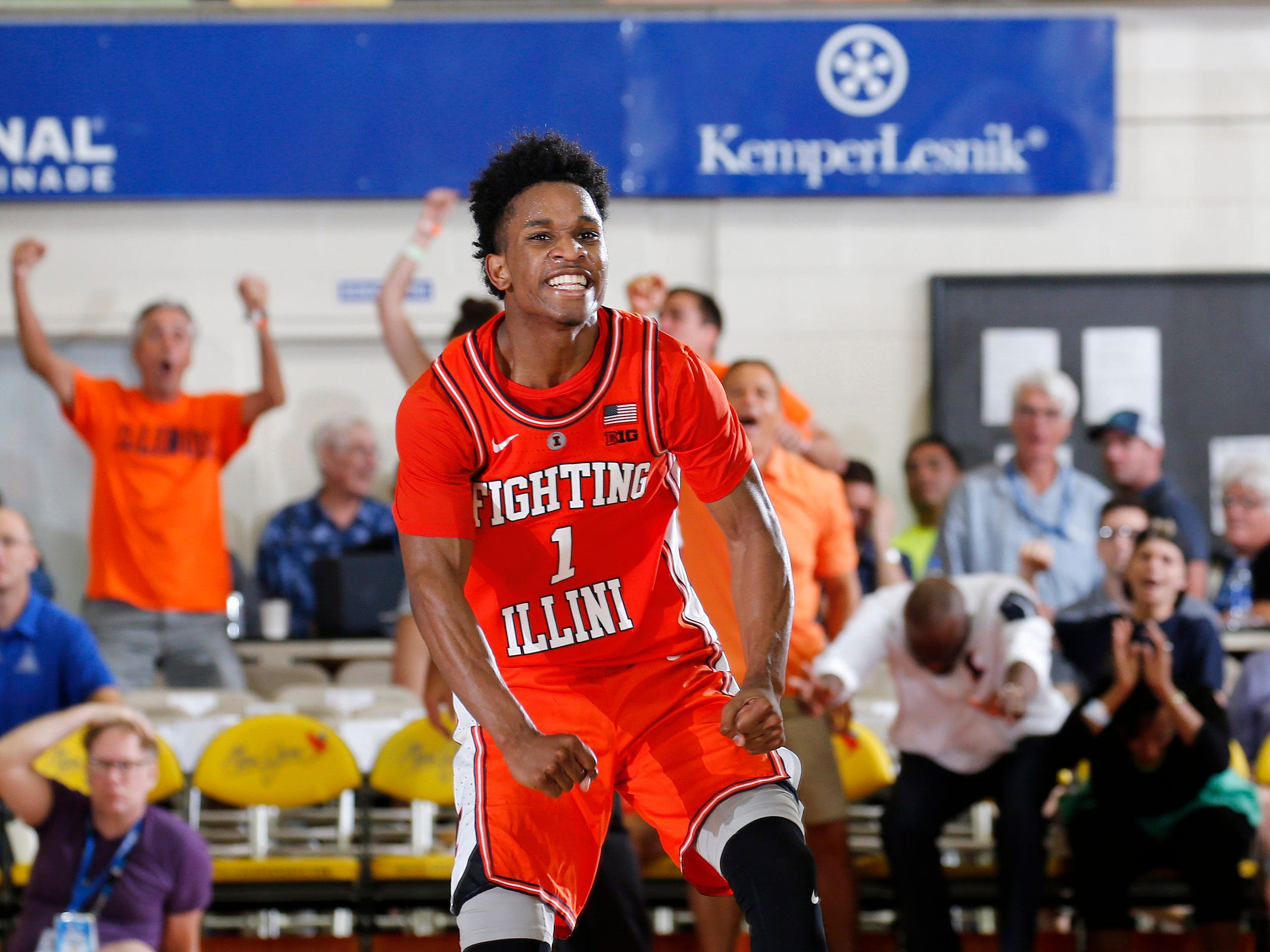 No. 14: Illinois Fighting Illini (3-7, 0-2 Big Ten). Sophomore guard Trent Frazier is averaging a team-best 14.3 points and 3.2 assists with 40 percent 3-point shooting (22-for-55).