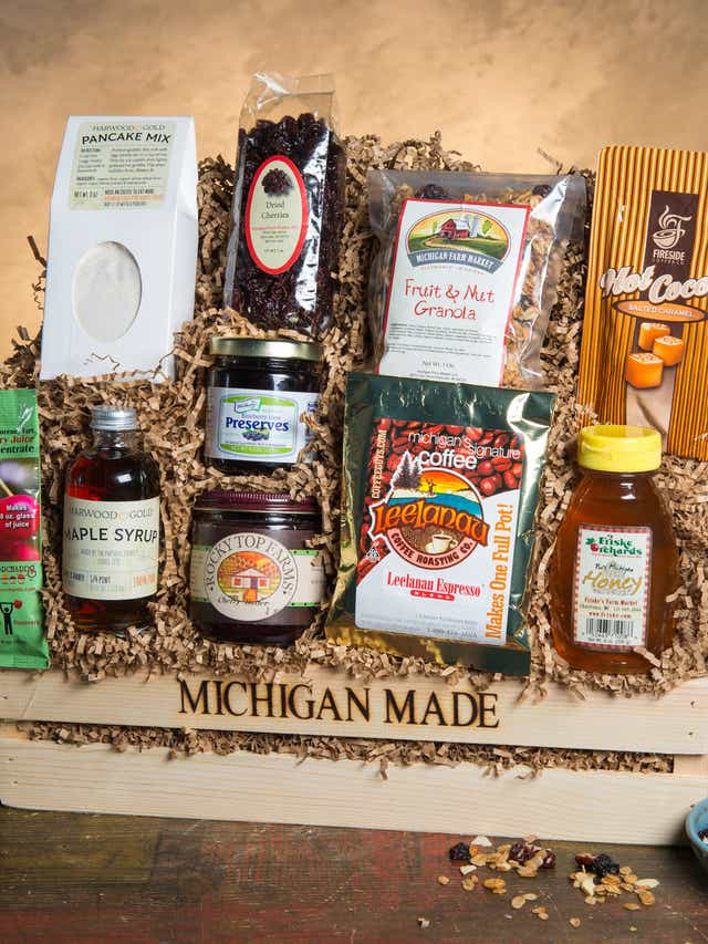 Michigan food gifts for the holidays