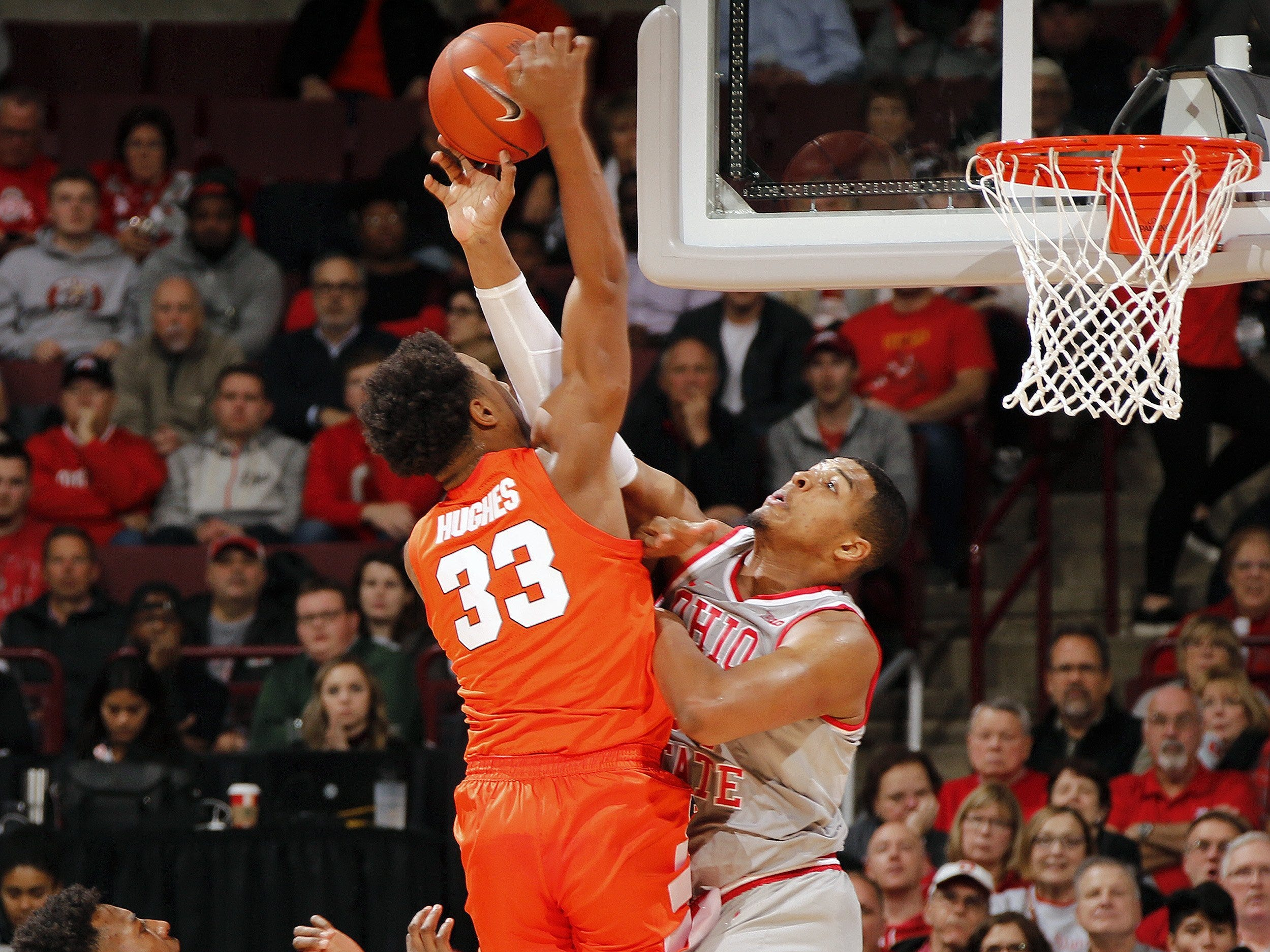 No. 4: Ohio State Buckeyes (8-1, 2-0).  Sophomore forward Kaleb Wesson is averaging a team-best 14.3 points, 6.2 rebounds and 1.1 steals.