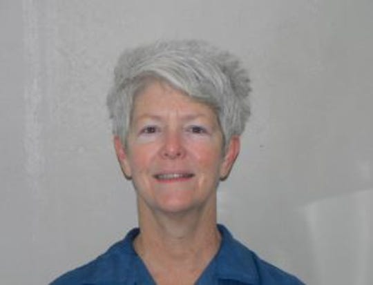 Lu Anne Szenay, a prisoner at the Women's Huron Valley Correctional Facility who has appealed for clemency. She was sentenced to life in prison without parole in the death of her husband, Timothy Szenay, and has served 28 years.