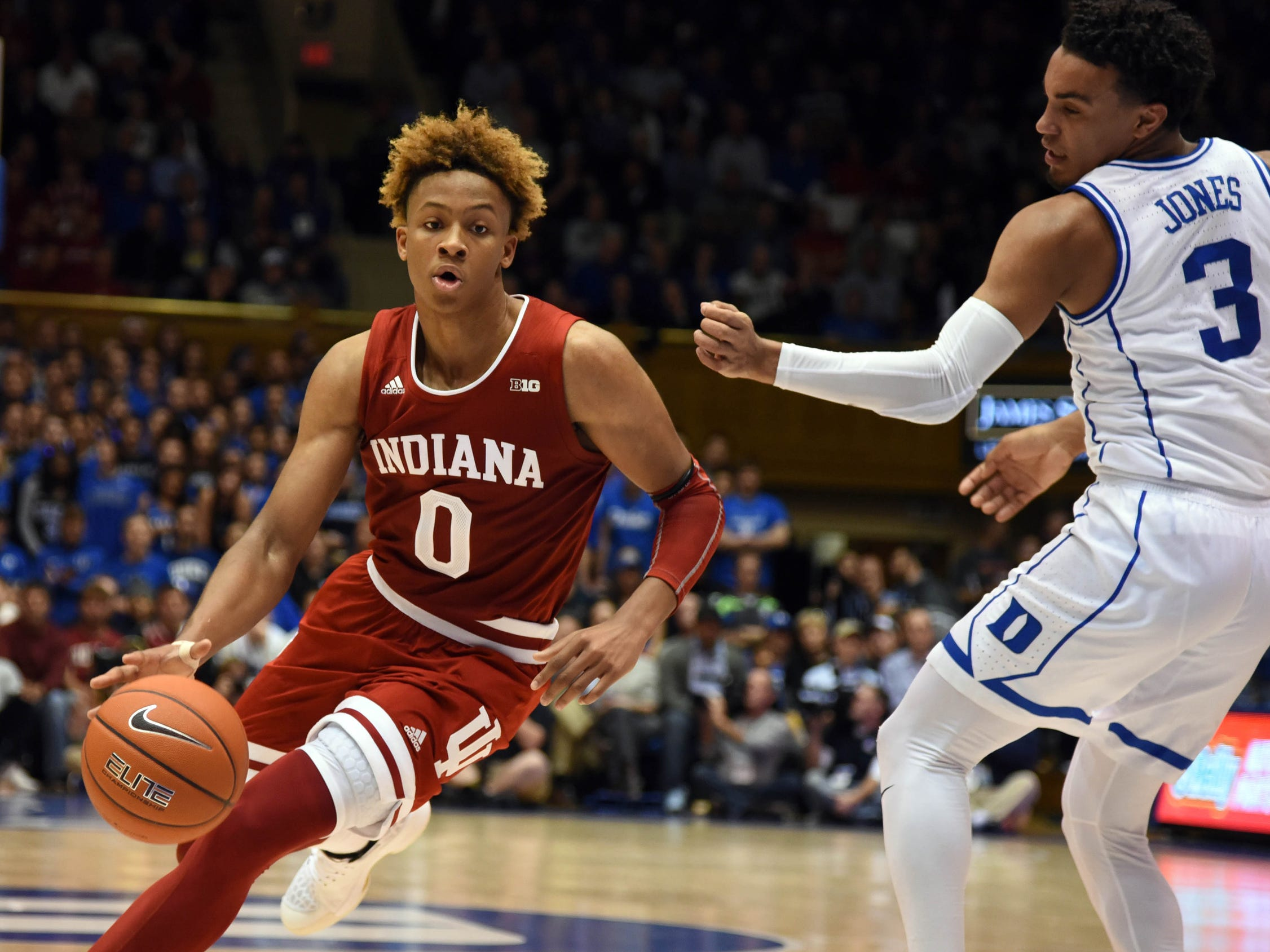 No. 5: Indiana Hoosiers (8-2, 2-0). Freshman guard Romeo Langford is scoring 18.2 points per game and dishing 2.3 assists.