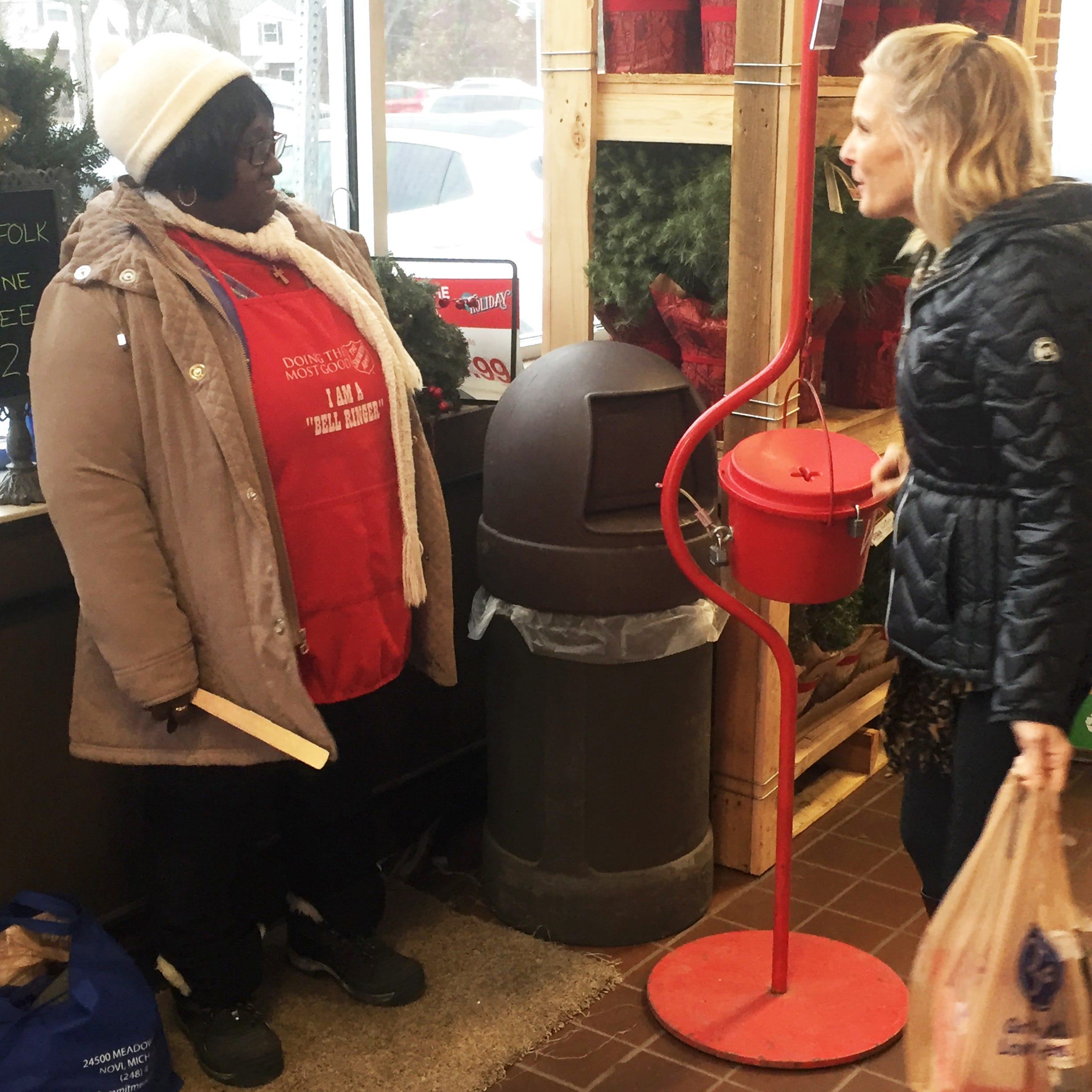 Gold coin donations in Salvation Army kettles spark speculation